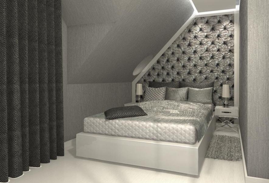 Sypialnia W Bloku Glamour