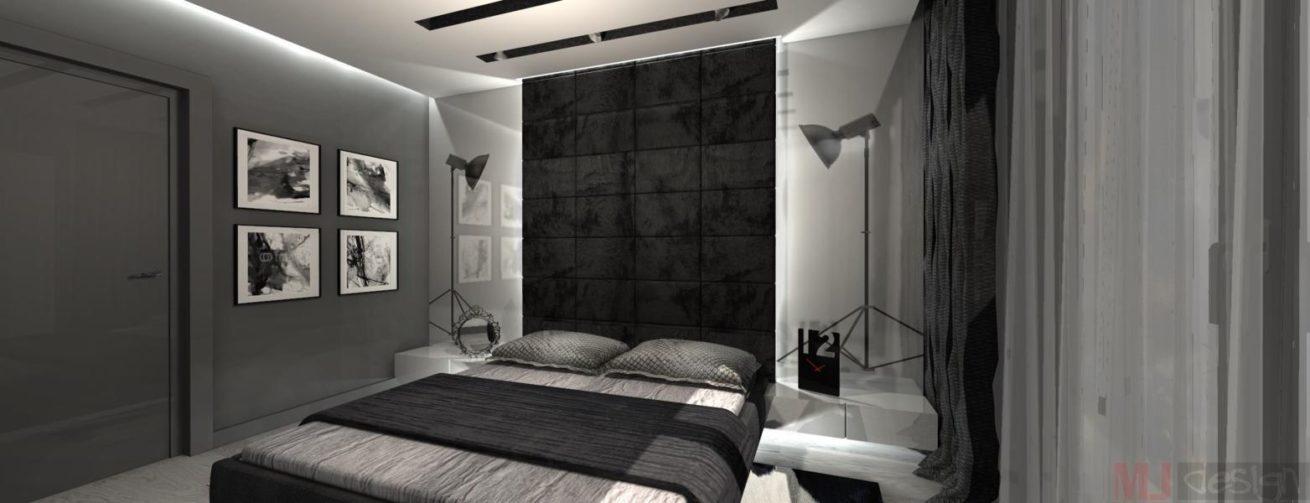 Sypialnia W Stylu Nowoczesnym Mj Design