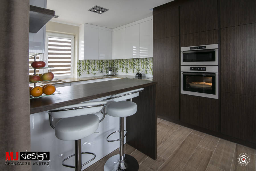 Kuchnia Motyw Bambusa Mj Design